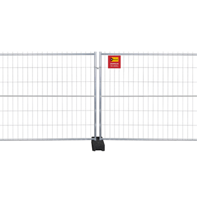 Image for Metal Construction Site Fencing (height 2m)