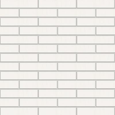 White Klinker Facing Brick图像