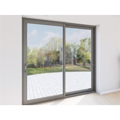 Image for Double sliding door aluminium