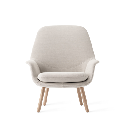 Image for Smile Lounge High back Wood legs